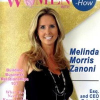 Melinda Morris Zanoni Graces The Cover Of &quote;Women With Know How&quote;